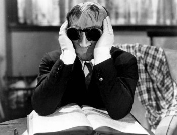 The Invisible Man (1933) Directed by James Whale Shown: Claude R